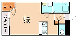 JR筑豊本線 新飯塚駅 徒歩34分の賃貸アパート 1階1Kの間取り