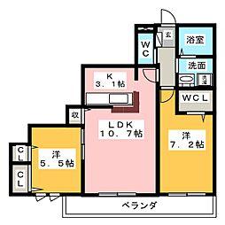 EfiL 373[1階]の間取り