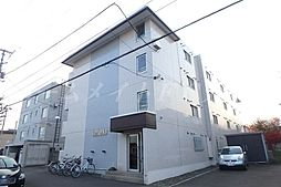 北海道札幌市東区北十八条東4の賃貸マンションの外観