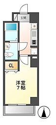 CASA八番館[1階]の間取り