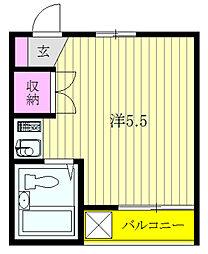 メゾニティ上石神井1号館[1階]の間取り