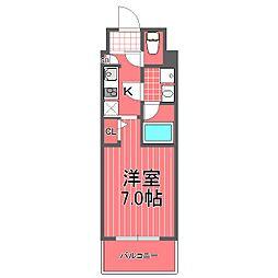 ズーム横濱イースト[3階]の間取り