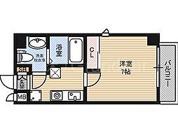 ラフォーレ東野田[6階]の間取り