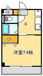 COMFORT富沢[2階]の間取り