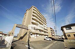 愛知県あま市七宝町沖之島高畑の賃貸マンションの外観