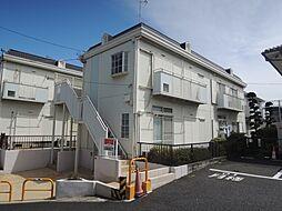東京都町田市鶴間3丁目の賃貸アパートの外観