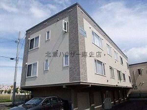 ラフォリア屯田A[2階]の外観