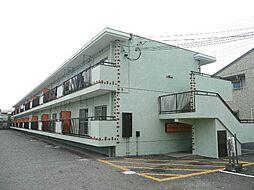 池尻マンション新中島[1階]の外観