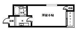 ハイムジャンプール[3階]の間取り