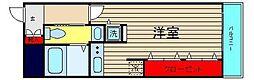 HF東心斎橋レジデンス[3階]の間取り