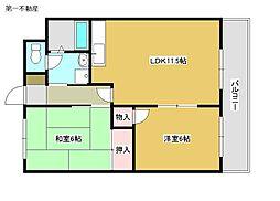 ルークレジデンス加東2[4階]の間取り