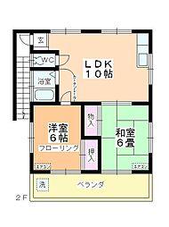 四都野台[2階]の間取り