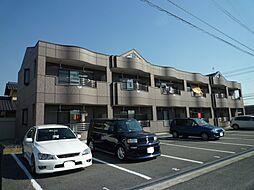 岡山県倉敷市八王寺町の賃貸アパートの外観