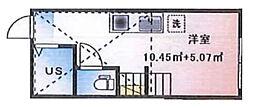 (仮称)ルームズ西早稲田B棟[203号室]の間取り