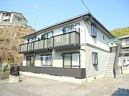 広島県広島市東区温品6丁目の賃貸アパートの外観