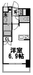 メロディア塚本[1003号室]の間取り