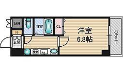 エステムコート新大阪7ステーションプレミアム[4階]の間取り