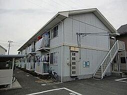 岡山県岡山市南区千鳥町の賃貸アパートの外観