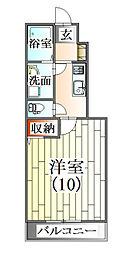 くるり[1階]の間取り