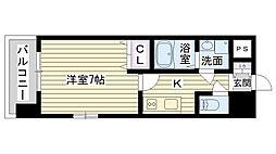 フォレストガーデン今福鶴見Ⅳ[2階]の間取り