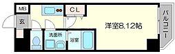 アート桜ノ宮 3階1Kの間取り