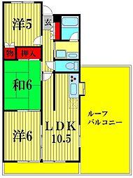 イーストコートSK[4階]の間取り