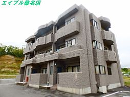 三重県桑名市大字蓮花寺の賃貸マンションの外観