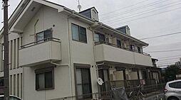 東京都足立区古千谷2丁目の賃貸アパートの外観