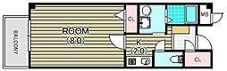メゾン ベルクール[2階]の間取り