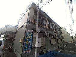 大阪府茨木市西田中町の賃貸アパートの外観