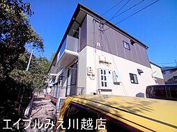シャトル新田B[2階]の外観