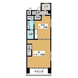 GOマンション[1階]の間取り