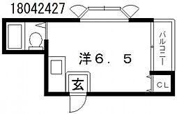 メゾンエクリオ[1階]の間取り