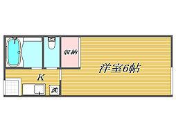 エスポワール小竹向原[2階]の間取り