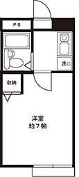 レジデンス武蔵野[1階]の間取り