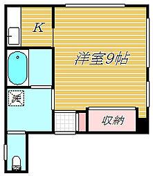 桂山ビル[2階]の間取り