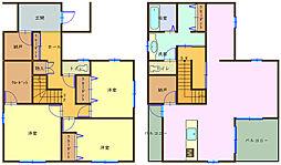 [一戸建] 和歌山県和歌山市西小二里3丁目 の賃貸【和歌山県 / 和歌山市】の間取り