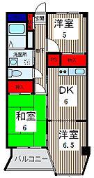 ニューグリーンマンション[1階]の間取り