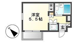 エクセランス新栄[3階]の間取り