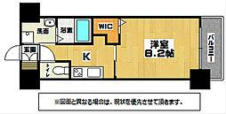 JR日田彦山線 南小倉駅 徒歩23分の賃貸マンション 10階1Kの間取り