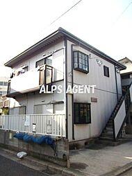 神奈川県横浜市港南区上大岡西2丁目の賃貸アパートの外観