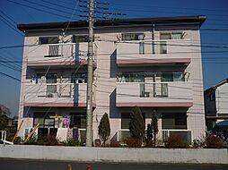 埼玉県越谷市花田7丁目の賃貸マンションの外観