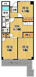 アルファワン[2階]の間取り
