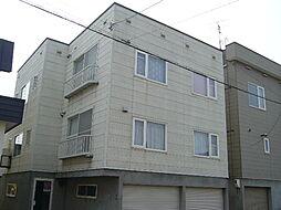 北海道札幌市白石区北郷四条5丁目の賃貸アパートの外観