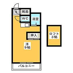 ガーデンプレイス太宰府[1階]の間取り