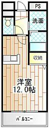 神奈川県相模原市南区麻溝台1丁目の賃貸マンションの間取り