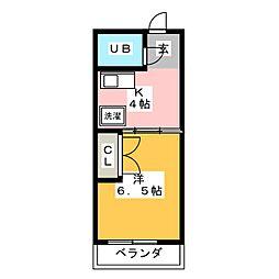 聖城ビル[5階]の間取り