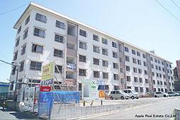 福岡県北九州市小倉南区朽網東1の賃貸マンションの外観