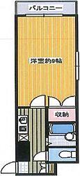 あべの恵寿ビル[907号室号室]の間取り