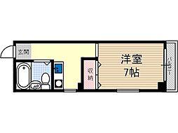 マプログレイス2[2階]の間取り